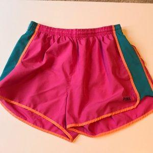 Victoria's Secret pink athletic shorts